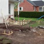 En terrasse bliver til.